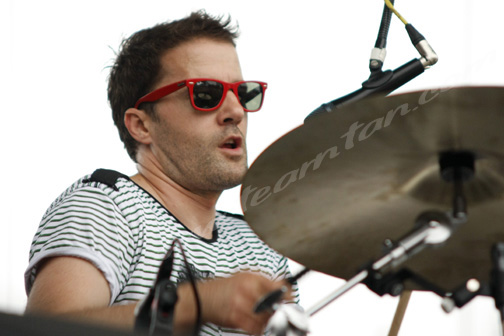 The Ting Tings at Jelly NYC's McCarren Park Pool Party