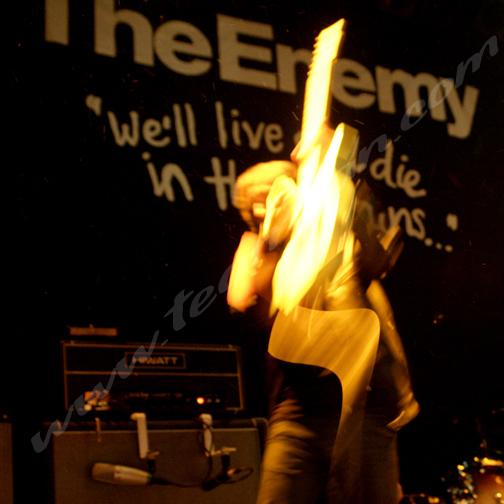 The Enemy at Bowery Ballroom, NYC