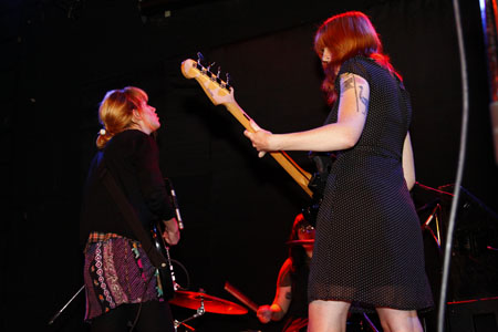 Vivian Girls at Bowery Ballroom, NYC