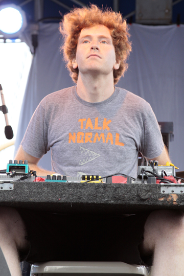 Dan Friel at the Seaport Music Festival