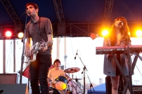 The Pains of Being Pure at Heart at the Seaport Music Festival