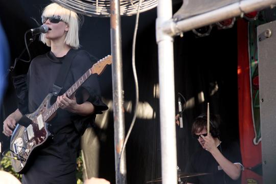 The Raveonettes at Village Voice's 2009 Siren Festival