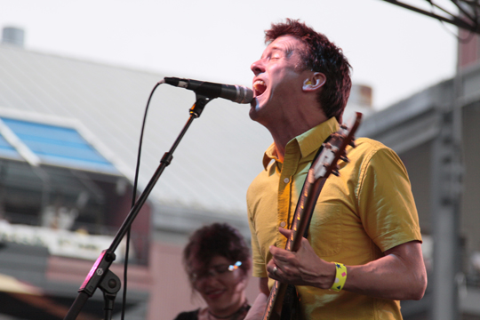 Superchunk at the Seaport Music Festival