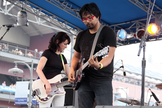 Versus at the Seaport Music Festival