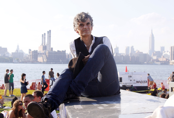 Amedeo Pace of Blonde Redhead at Jelly NYC, Williamsburg, Brookl