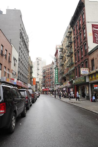 Mott Street, Chinatown, NYC