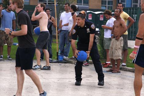 Dodgeball, Jelly NYC, Williamsburg, Brooklyn
