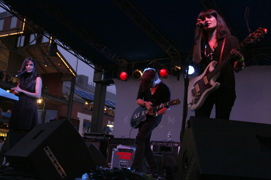School of Seven Bells at the Seaport Music Festival