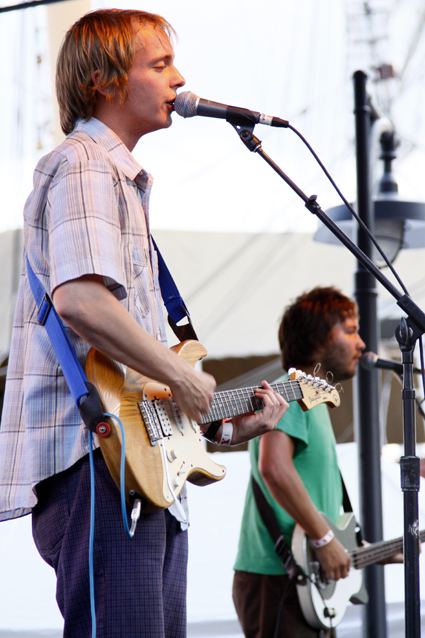 The Wave Pictures at the Seaport Music Festival