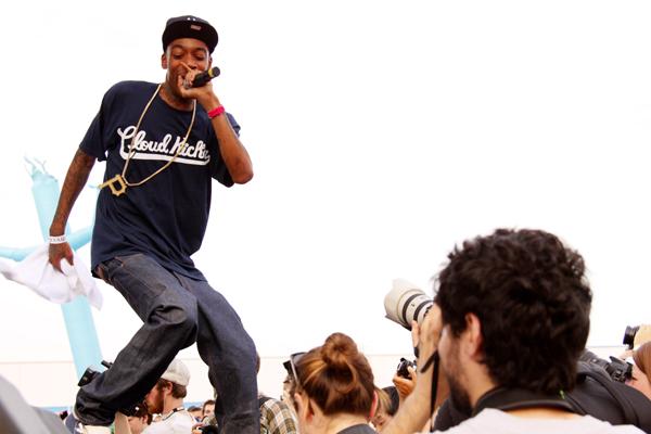 Wiz Khalifa at Jelly NYC, Williamsburg, Brooklyn