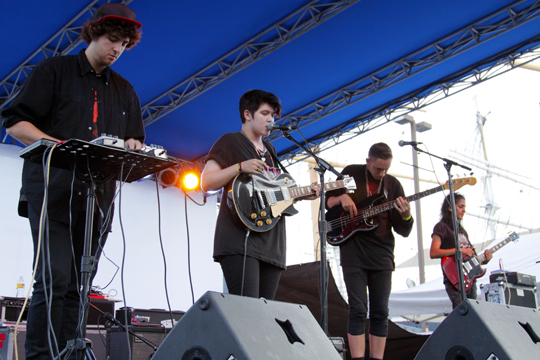 The xx at the Seaport Music Festival