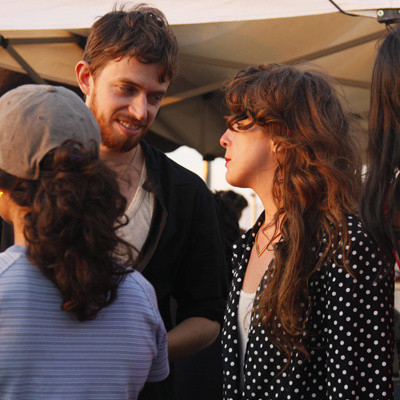 Chris Keating of Yeasayer and Victoria Legrand of Beach House at