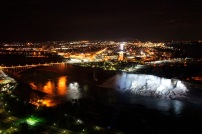 Niagara Falls at Night, Ontario, Canada