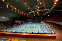 Olympic Pool At Olympic Stadium, Montreal, Canada