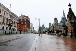Ottawa Street Scene, Ontario, Canada