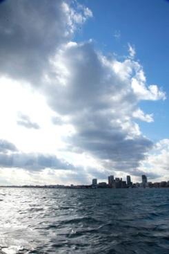 Toronto Harbor, Lake Ontario, Canada