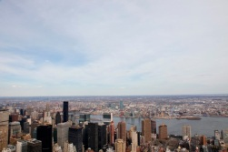 View From Empire State Building, 3 April 2011