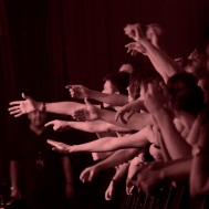 Audience at Beady Eye at the Theatre of Living Arts, Philadelphia