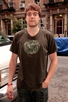 Cotton Tee with Pretty Green Logo