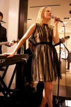 Ellie Goulding at Saks Fifth Avenue
