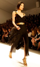 Elie Tahari Show at Mercedes-Benz Fashion Week in New York City
