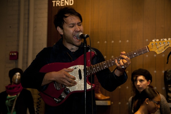 Unknown Mortal Orchestra at the Puma Store, Union Square, NYC