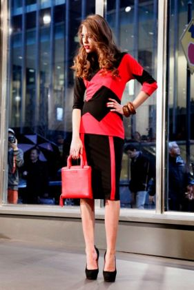 Stephen Burrows Fall/Winter 2012 Collection at the Audi Forum at Fashion Week in NYC