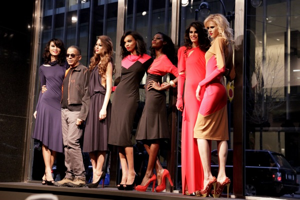 Stephen Burrows Fall/Winter 2012 Collection at the Audi Forum at