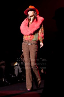 Betsey Johnson Fall 2012 Collection at Fashion Week in NYC