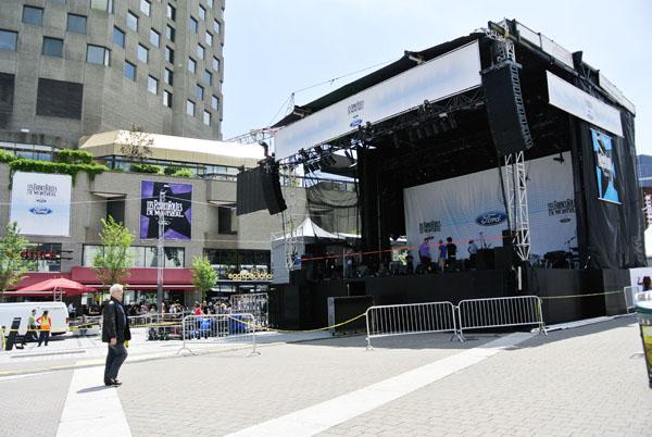 Les Franco Folies Festival at Place Des Arts, Montreal, Canada