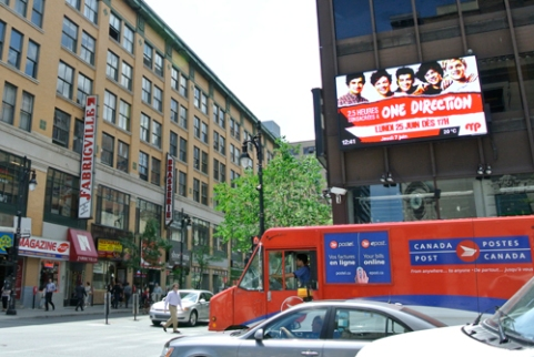 Even One Direction Goes to Montreal