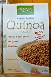 Chocolate Quinoa Cereal