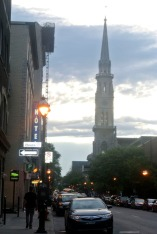 Street Scene in Montreal, Canada