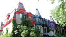 Square Saint-Louis and Avenue Laval and Avenue Henri-Julien, Montreal, Canada