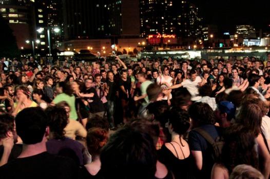 Crowd During Dan Deacon