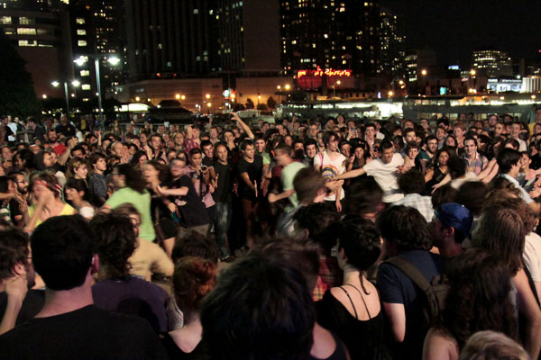 Crowd During Dan Deacon