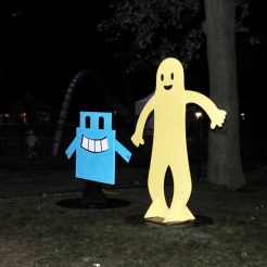 Park Cut Out Characters
