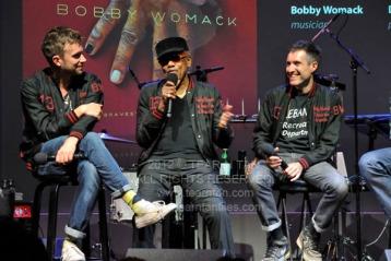 Damon Albarn, Bobby Womack, Richard Russell