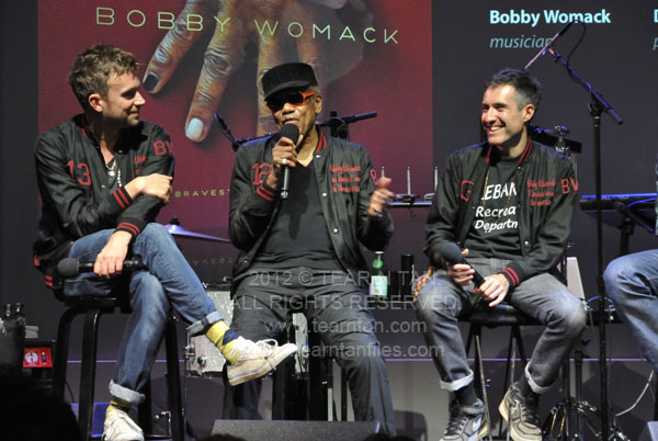 Damon Albarn, Bobby Womack, Richard Russell