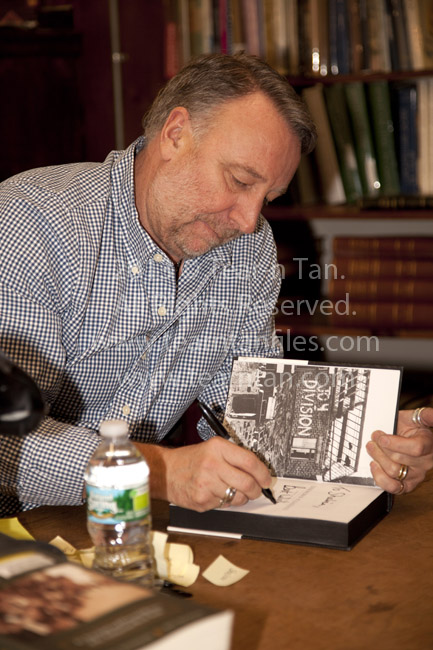 Peter Hook Unknown Pleasures 'Inside Joy Division' Book Signing