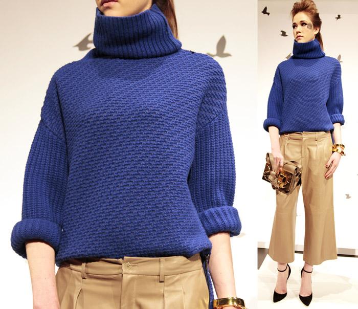 Sweater: Monika Chiang FallWinter 2013