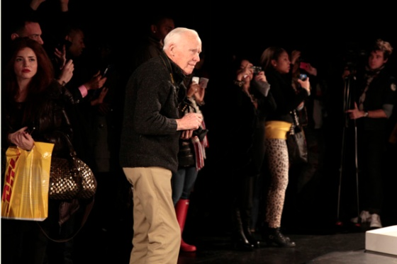 Bill Cunningham at David Tlale's Box Presentation