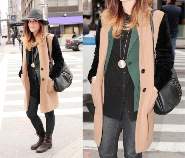 Coat: Urban Outfitters