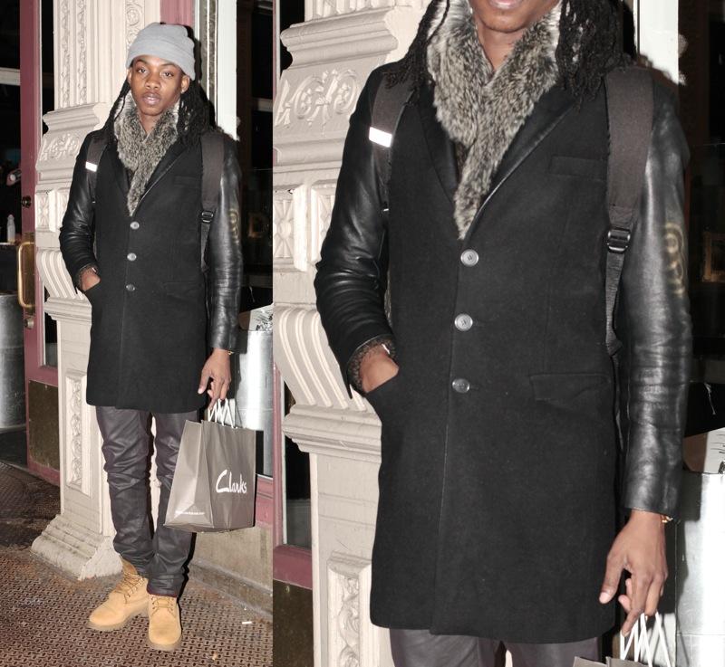 Coat: Versace for H & M
