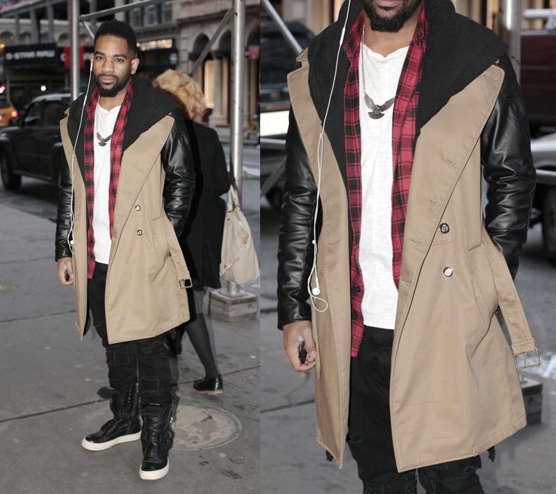 Coat: Zara