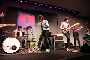 Ra Ra Riot at the Apple Soho Store