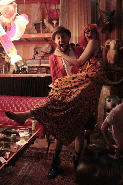 May 30, 2013: Fashion at Firehorse showcase in Brooklyn.