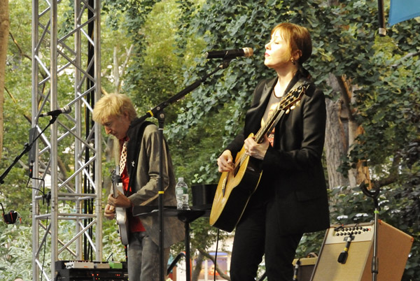 Suzanne Vega at the 2013 Mad. Sq. Music: Oval Lawn Series