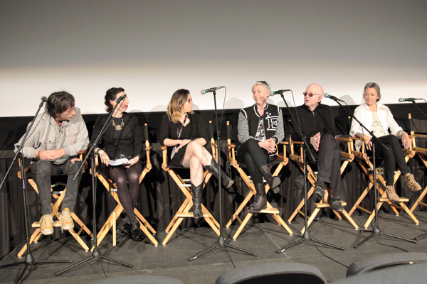 Mickey Leigh, Rachel Felder, Anya Kurennaya, Jackie Fraser-Swan, Alan McGee, Anna Sheffield