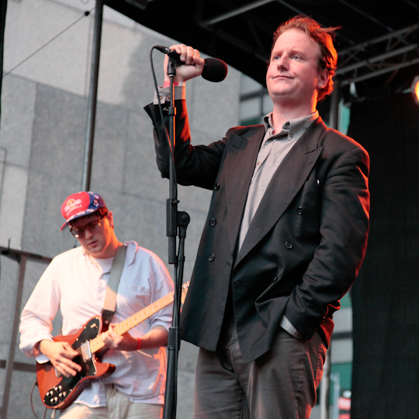 Protomartyr and Alvvays at the Seaport Music Festival